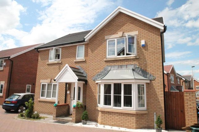 Thumbnail Detached house for sale in Copper Beech Drive, Bedwellty Gardens, Tredegar, Blaenau Gwent