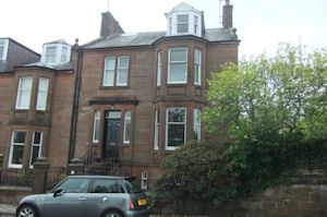 Thumbnail End terrace house for sale in Albany Place, Dumfries