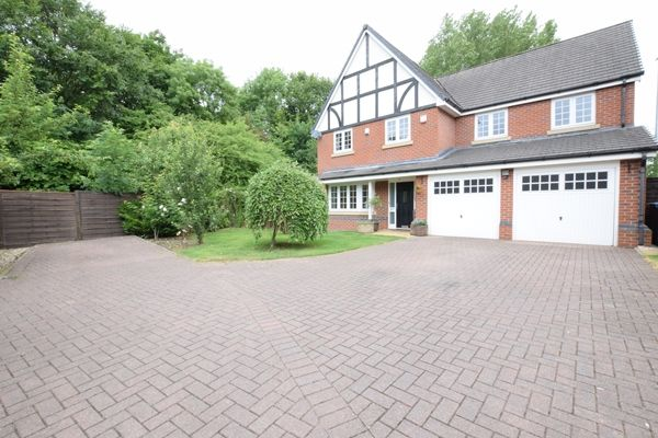 Thumbnail Detached house for sale in Godolphin Close, Eccles, Manchester, Lancashire