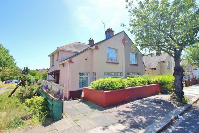 Thumbnail Semi-detached house for sale in Woodhurst Road, Abbey Wood, London