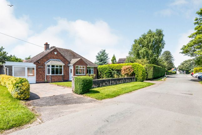 Thumbnail Detached bungalow for sale in Crawley Lane, Kings Bromley, Burton-On-Trent