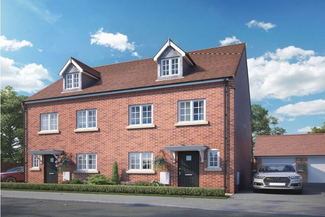 Thumbnail Semi-detached house for sale in Orchard Place Pershore Road, Hampton, Evesham