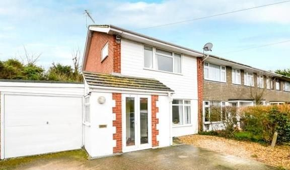 Thumbnail End terrace house to rent in Abbotts View, Sompting, Lancing