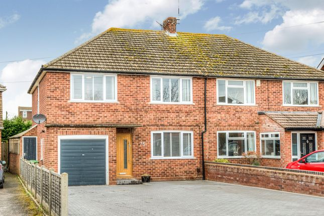 Thumbnail Semi-detached house for sale in Townsend Road, Tiddington, Stratford-Upon-Avon
