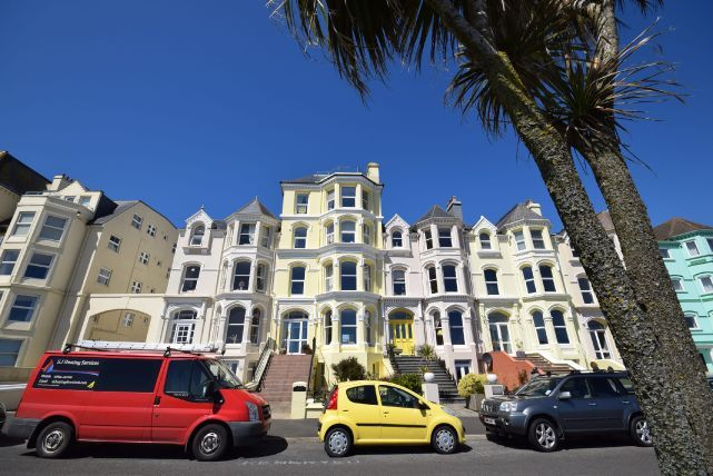 Thumbnail Flat for sale in The Promenade, Port St Mary
