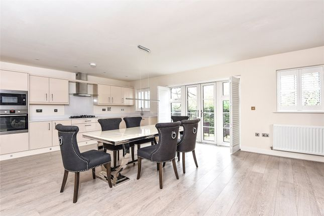 Thumbnail Detached house to rent in Meadows Drive, Camberley, Surrey