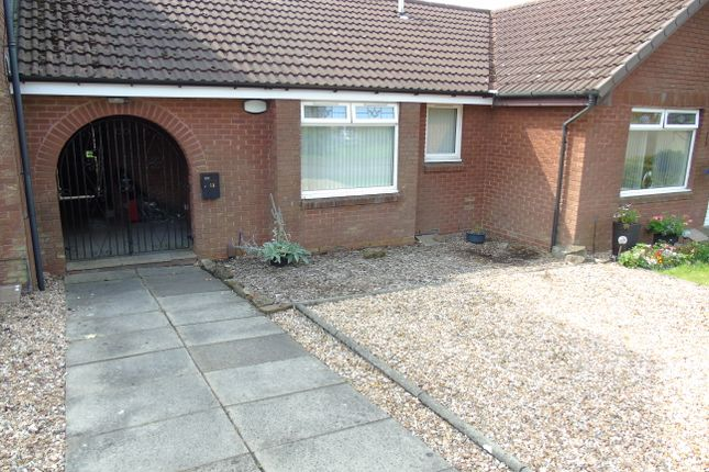 Thumbnail Terraced bungalow for sale in Springholm Drive, The Rushes, Airdrie, North Lanarkshire
