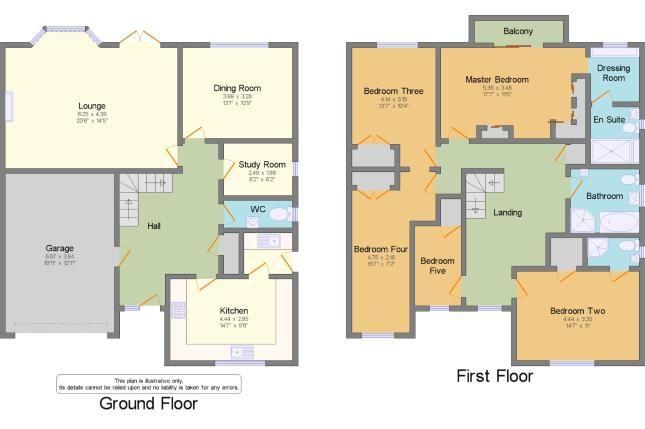 Floorplan of Hullbridge, Essex, . SS5