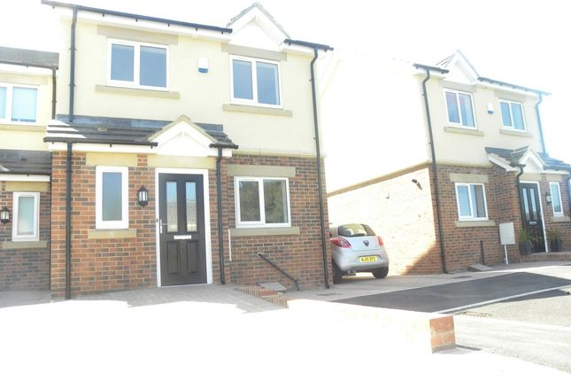 Thumbnail Semi-detached house for sale in Kensington Close, Seghill, Cramlington