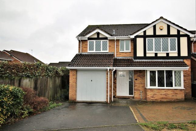 Thumbnail Detached house to rent in Sherwood Close, Basingstoke