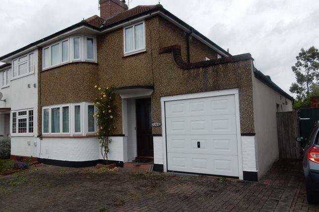 Thumbnail Semi-detached house to rent in Kingston Ave, Feltham