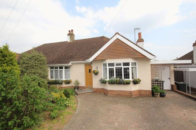 Thumbnail Semi-detached bungalow for sale in Greentrees Avenue, Tonbridge