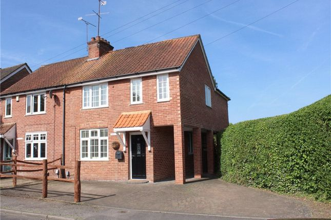 Thumbnail Semi-detached house for sale in Lowlands Road, Blackwater, Surrey