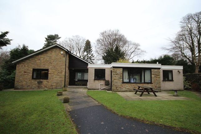 Thumbnail Detached bungalow for sale in Bury Road, Bamford, Rochdale