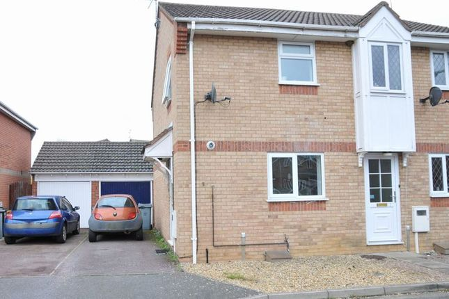 Thumbnail Detached house to rent in Primroses, Deeping St. James, Peterborough