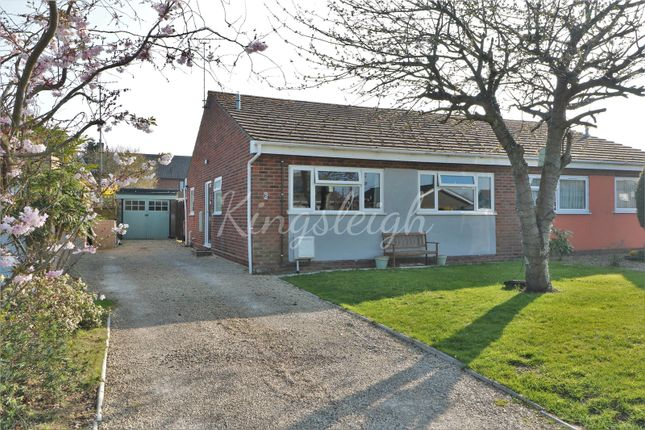 Thumbnail Semi-detached bungalow for sale in Daleview Avenue, Wix, Manningtree, Essex