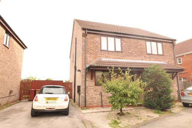 Thumbnail Semi-detached house to rent in Millers Quay, Scawby Brook, Brigg