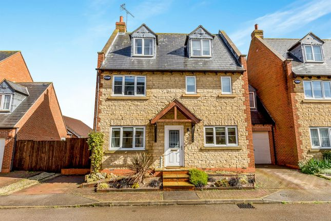 Thumbnail Detached house for sale in Alexander Court, Irchester, Wellingborough
