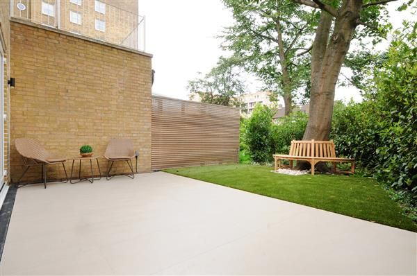 Patio of Court Close - Boydell Court, St Johns Wood Park, London NW8
