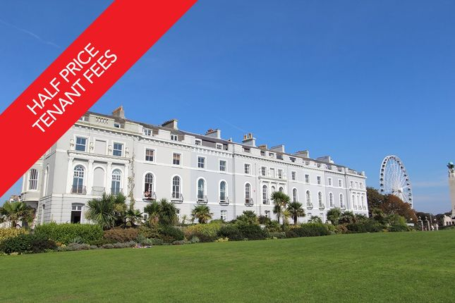 Thumbnail Flat to rent in The Esplanade, The Hoe, Plymouth