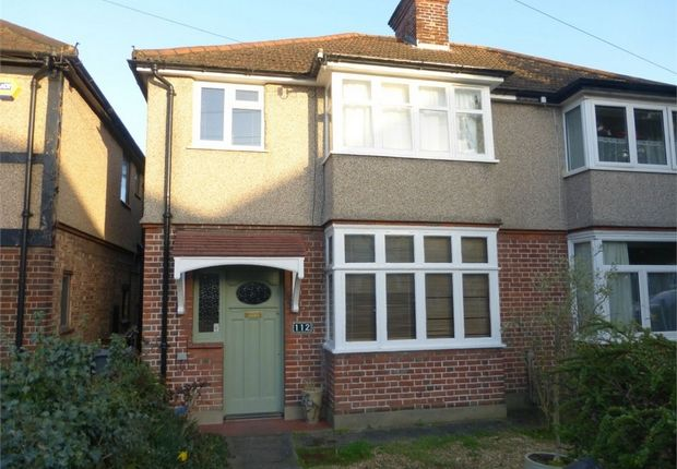 Thumbnail Semi-detached house for sale in Woodland Gardens, Isleworth, Middlesex