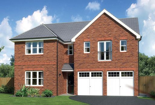 "Thumbnail Detached house for sale in ""Kingsmoor"" At Ffordd Eldon, Sychdyn"