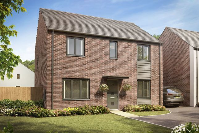 """Thumbnail Detached house for sale in """"The Chedworth"""" at Llantrisant Road, Capel Llanilltern, Cardiff"""