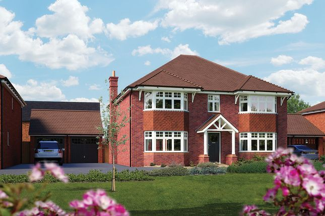 "Thumbnail Detached house for sale in ""The Ascot"" at Ashlawn Road, Rugby"