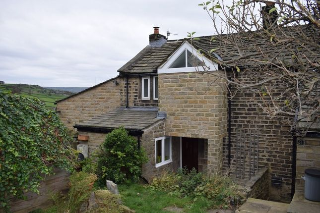 Thumbnail End terrace house to rent in Cliff Road, Holmfirth
