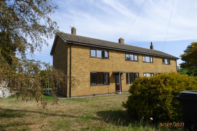 Thumbnail Semi-detached house to rent in Church Farm Cottages, Church Lane, Hardley, Norwich