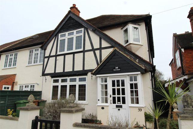 Thumbnail End terrace house for sale in Rectory Lane, Wallington