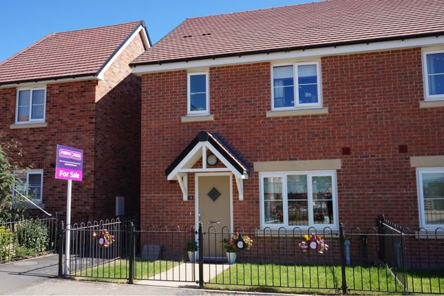 Thumbnail Semi-detached house for sale in Hollands Drive, Oswestry