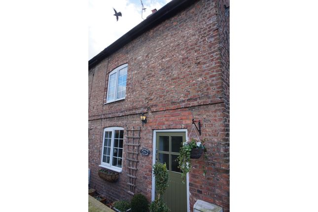 Thumbnail End terrace house for sale in High Street, Tarvin