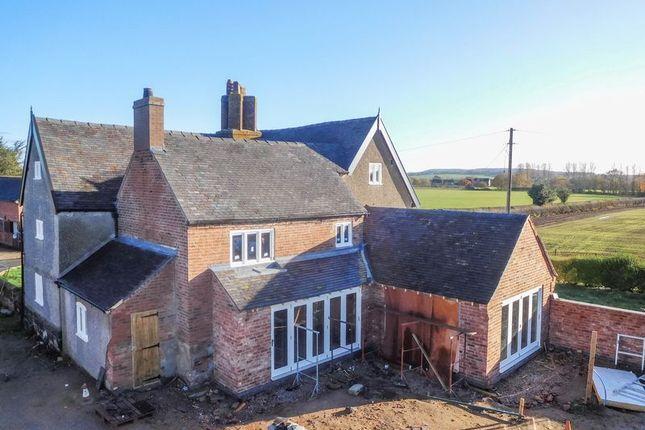 Thumbnail Detached house for sale in Dorrington Lane, Woore, Crewe