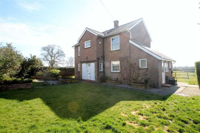 Thumbnail Detached house to rent in Woolston Road, West Felton, Oswestry