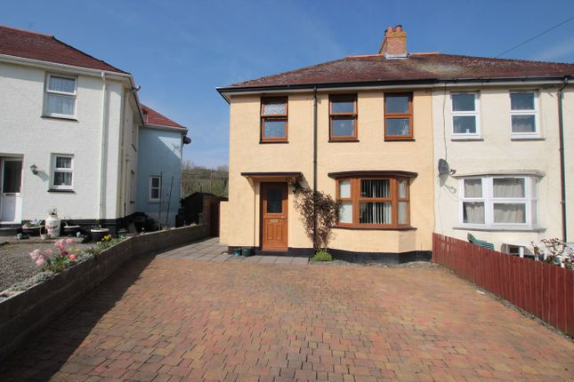 Thumbnail Semi-detached house for sale in Cylch-Y-Llan, New Quay