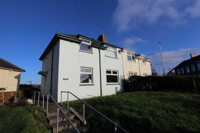 Thumbnail Semi-detached house for sale in Third Avenue, Penparcau, Aberystwyth