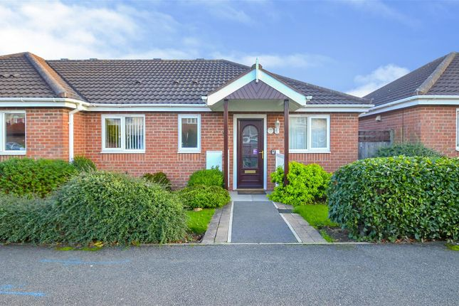 Thumbnail Terraced bungalow for sale in Cranfleet Way, Long Eaton, Nottingham