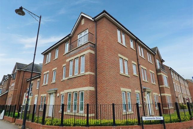 Thumbnail 2 bed flat for sale in Summerlin Drive, Woburn Sands, Milton Keynes, Buckinghamshire