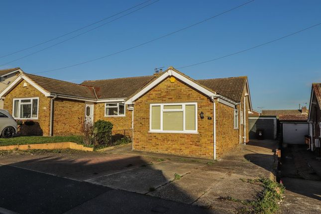 2 bed semi-detached bungalow for sale in Vidgeon Avenue, Hoo, Rochester ME3