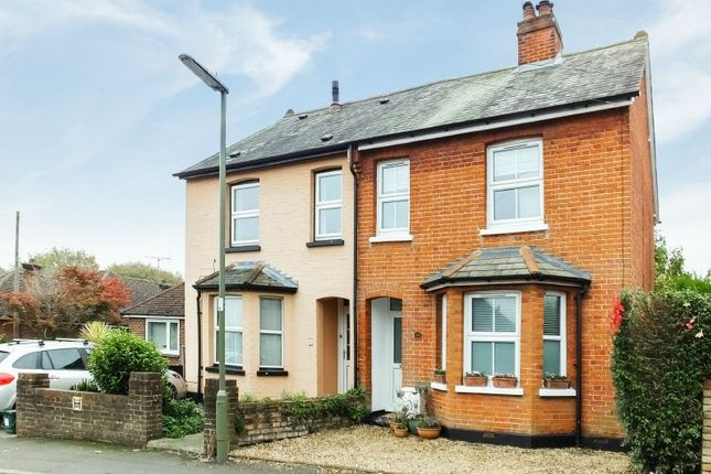 Thumbnail Semi-detached house for sale in Barnby Road, Knaphill, Woking