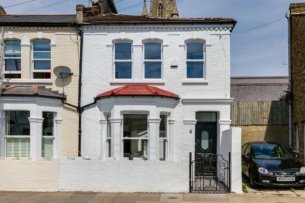 Thumbnail End terrace house for sale in Sherbrooke Road, London