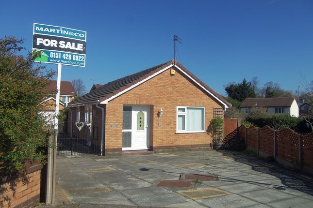 Thumbnail Detached bungalow for sale in Broad Hey Close, Woolton, Liverpool