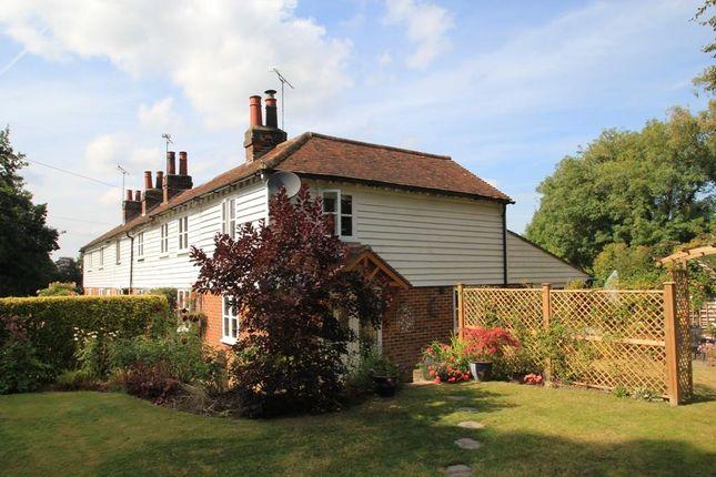 Thumbnail End terrace house for sale in Pound Cottages, Goudhurst Road, Cranbrook, Kent
