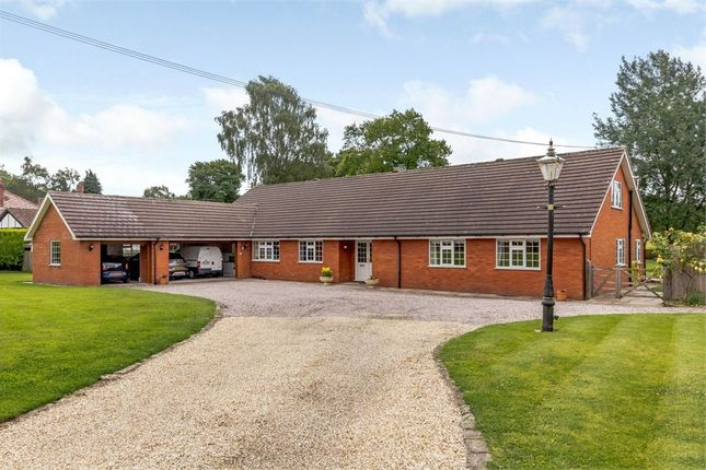 Thumbnail 5 bed detached bungalow for sale in Dalefords Lane, Whitegate, Northwich, Cheshire