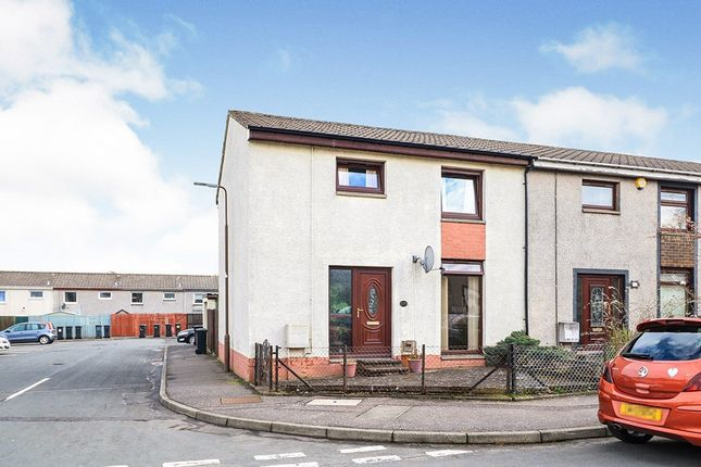 Thumbnail End terrace house for sale in Langside Gardens, Polbeth, West Calder, West Lothian
