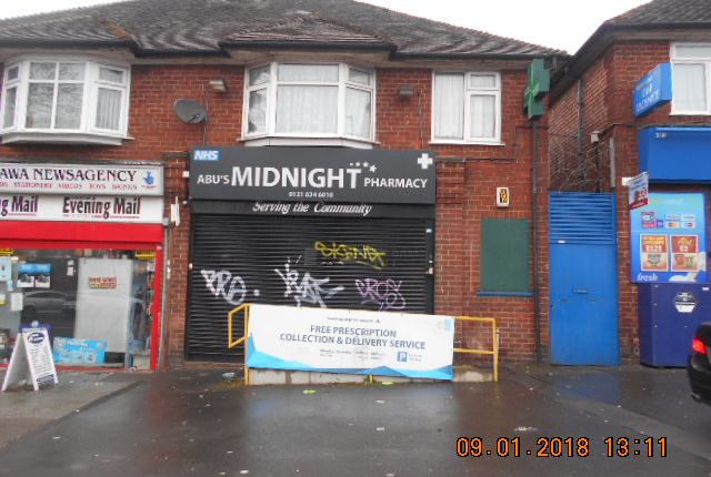 Retail premises to let in Bordesley Green East, Stechford