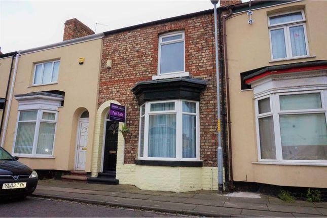 Thumbnail Terraced house for sale in Hampton Road, Stockton-On-Tees