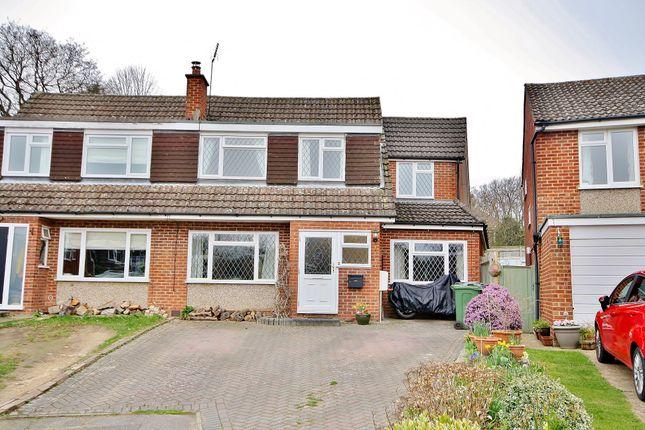 Thumbnail Semi-detached house for sale in Bramble Way, Ripley, Woking