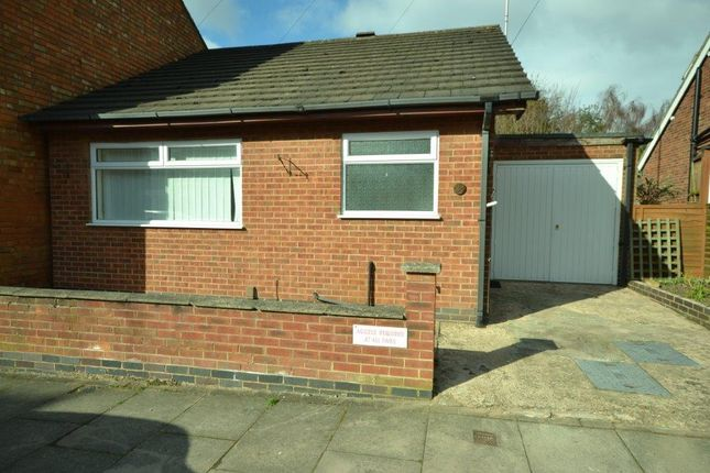 Thumbnail Detached bungalow for sale in Howard Road, Leicester